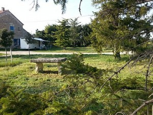 Aire pour camping-cars sur le Domaine de Corinne DEPEYRE