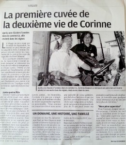 article_corinne_dupeyre_laprovence_2011