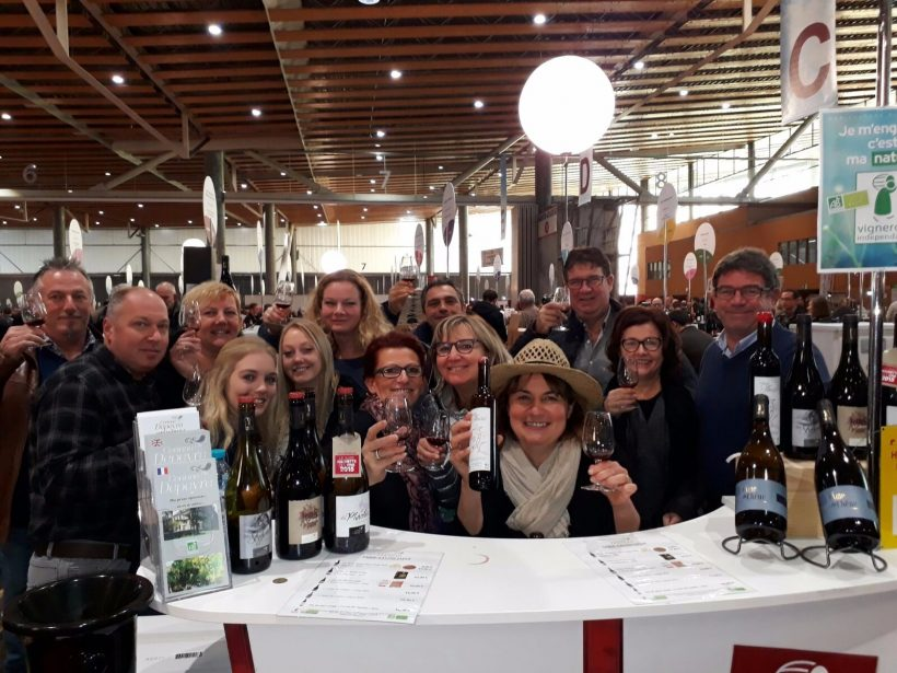 Salon de lille du 17 au domaine corinne - Salon des vignerons independants lille ...