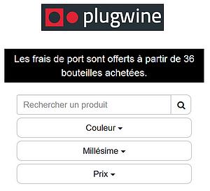 Cliquer pour acheter les vins à la boutique en ligne.