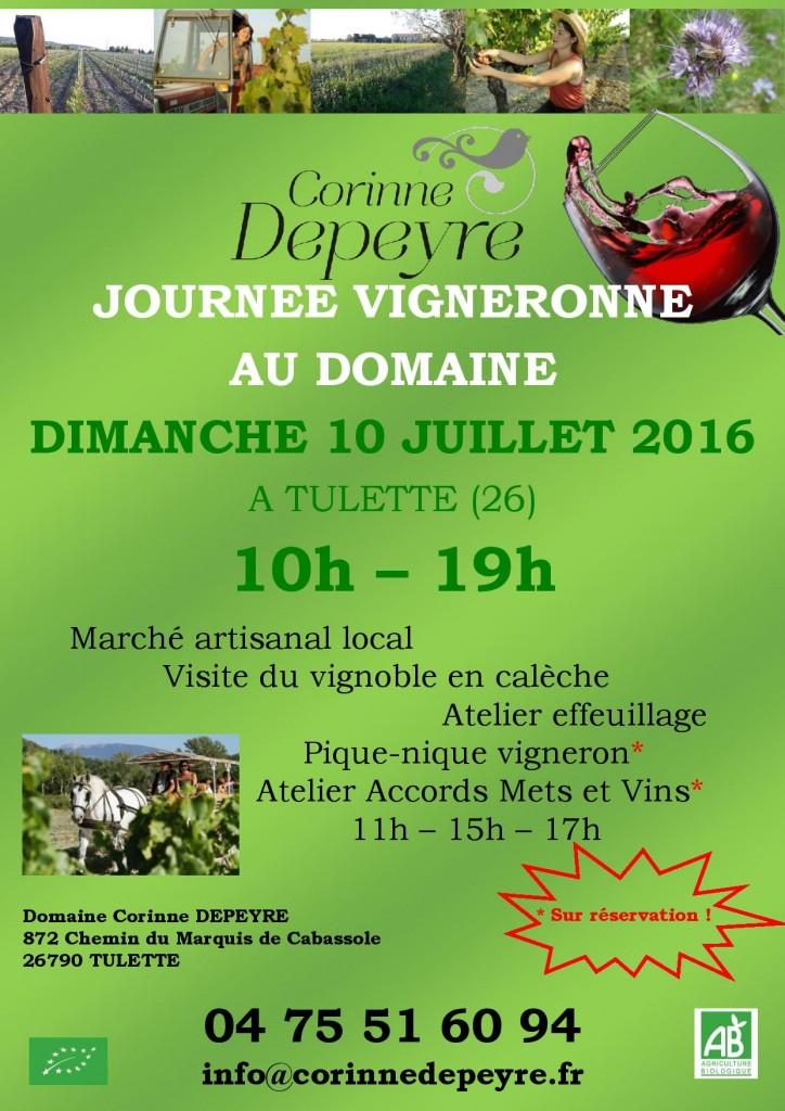 Journée Vigneronne au domaine