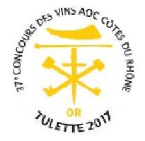 Médaille d'or Tulette STYLE BLANC 2016