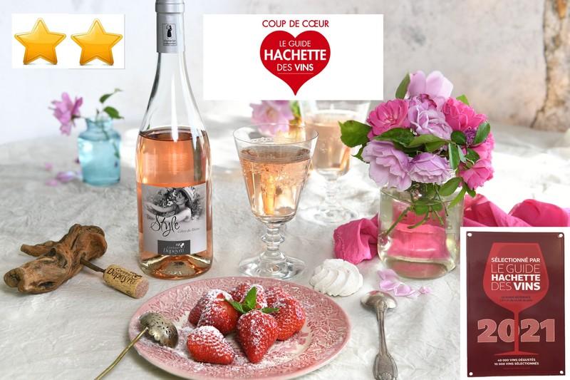 Coup de coeur Hachette Style Rosé 2021