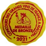 La cuvée Terres de Cabassole 2019 médaillée en Bronze à Macon